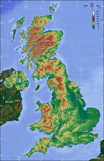 Map Of Uk Rivers And Mountains.The United Kingdom Key Stage 3 Geography In The News