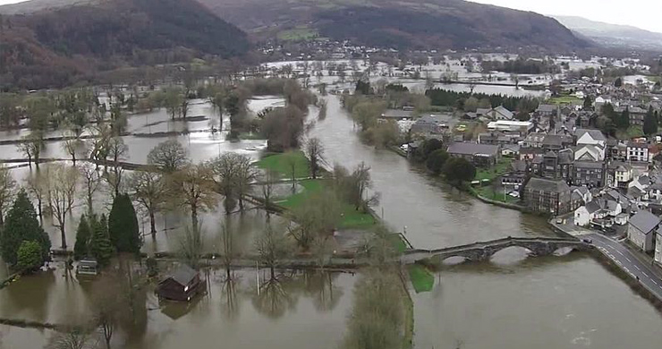 Investigating winter flooding in the United Kingdom?