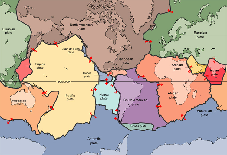 Plate Tectonics Overview  Key Stage 2  Geography in the News